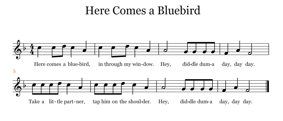 Here Comes a Bluebird